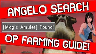 How to get the AMAZING Angelo Search in Final Fantasy 8 Remastered & AUTO FARMING GUIDE!