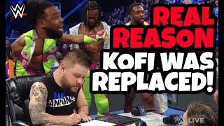 REAL REASON KOFI KINGSTON was replaced by KEVIN OWENS for WWE Fastlane 2019 on SD LIVE 2/26/19