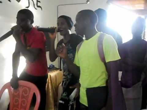 How Karaoke is used as a fun learning tool by the youth of Lolodorf , Cameroon