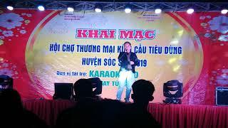 Phải chia tay thôi - Diễn viên hài Cu Thóc hát hội chợ Minh Phú