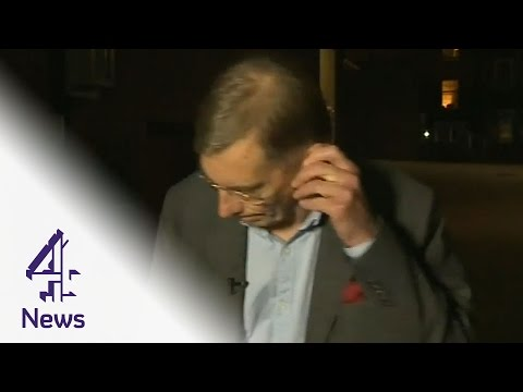Ex-GCHQ chief walks out of interview: 'I have to run for a train'