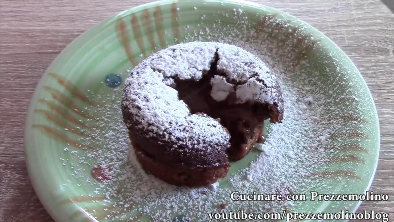 Ricetta tortino al cioccolato bimby tm31