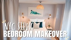 NYC Studio Bedroom Makeover | Revamp & Organizing