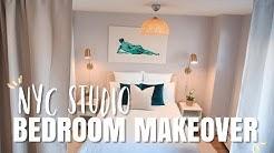 NYC Studio Bedroom Makeover | Revamp & Organizing
