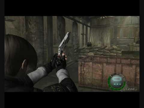 Resident Evil 4: handcannon infinite ammo