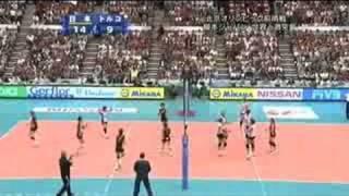 ワールドグランプリ 2008 日本vsトルコ - 第2セット