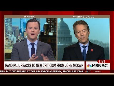 John McCain says Rand Paul works for Vladimir Putin