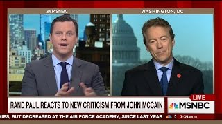 John McCain says Rand Paul works for Vladimir Putin