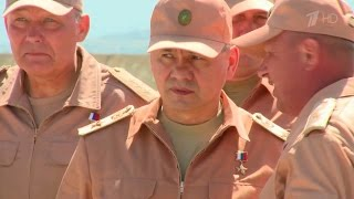 Министр обороны РФ Сергей Шойгу посетил авиабазу «Хмеймим» и провел переговоры с президентом Сирии.