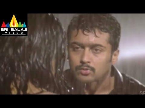 Nuvvu Nenu Prema Movie Surya and Jyothika Scene   Suriya, Jyothika, Bhoomika   Sri Balaji Video