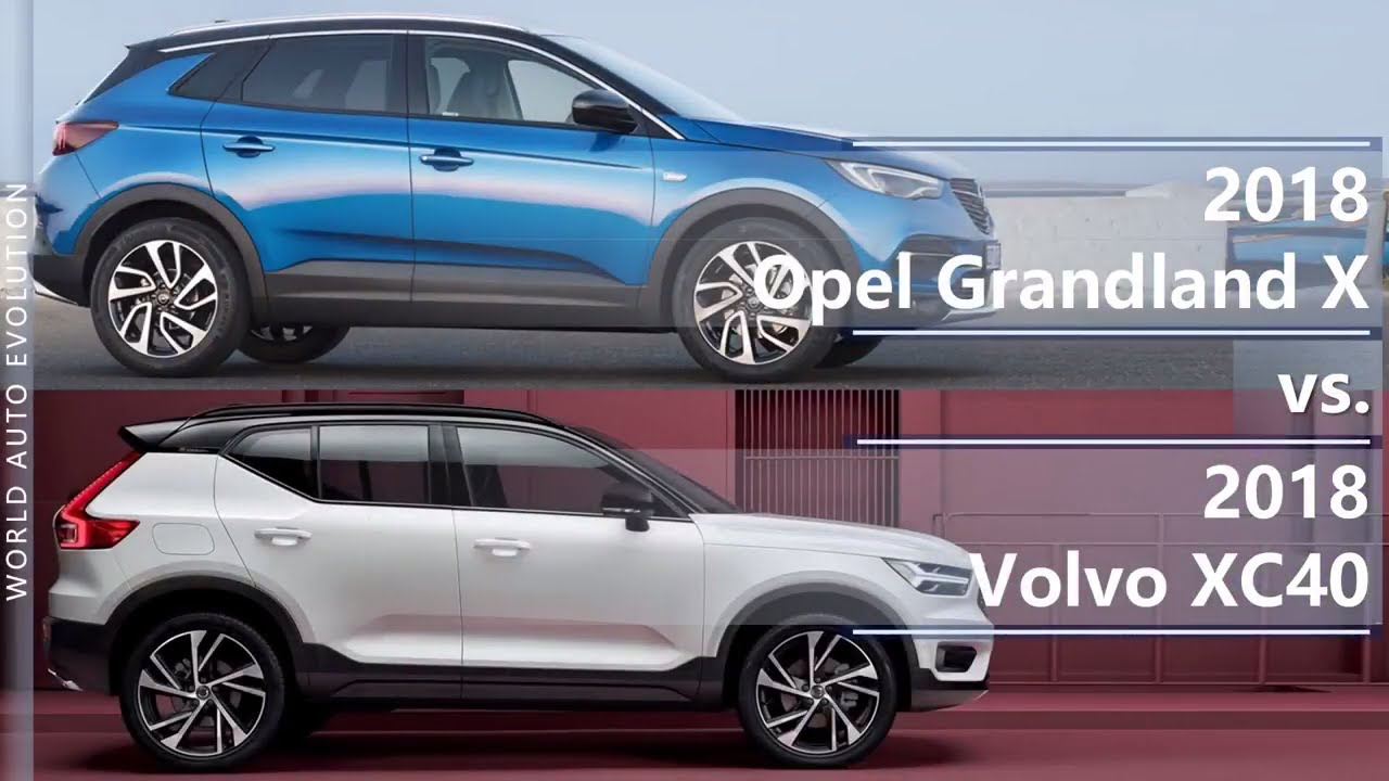 2018 opel grandland x vs 2018 volvo xc40 technical comparison youtube. Black Bedroom Furniture Sets. Home Design Ideas