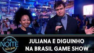 Juliana e Diguinho na Brasil Game Show | The Noite (16/10/19)