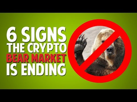 6 Signs The Crypto Bear Market Is Ending!