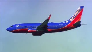 SWA Southwest Airlines Fly by