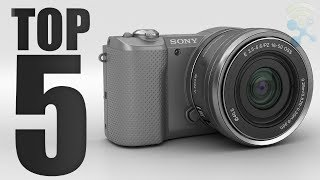 Video Top 5 Best Cheap Cameras in 2018 download MP3, 3GP, MP4, WEBM, AVI, FLV Juli 2018