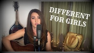 DIFFERENT FOR GIRLS by Dierks Bentley ft. Elle King (Cover by Emily Coale)