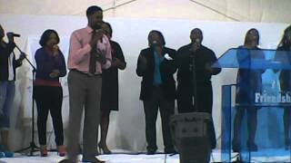 """Minister Maurice Davenport & NuVizion ministering """"He took my Place"""""""