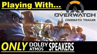 Dolby Atmos - Sound Test #21 - Playing with ONLY in-ceiling Speakers! - Klipsch & SVS Home Theater