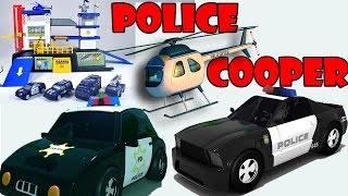Polizei station für Kinder - Polizei-Auto cartoons für Kinder - sergeant cooper Polizeiauto