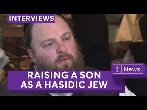 Menashe Lustig: Film star on raising his son as a Hasidic Jew