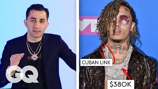 Jewelry Expert Critiques Rappers Chains  Fine Points  GQ