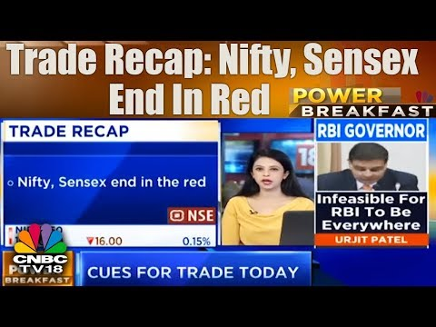 Trade Recap: Nifty, Sensex End in Red | Power Breakfast (Part 01) | CNBC TV18