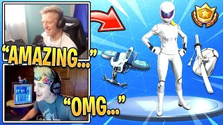 TFUE REACTS TO *NEW* WHITEOUT SKIN & OVERTAKER SKIN