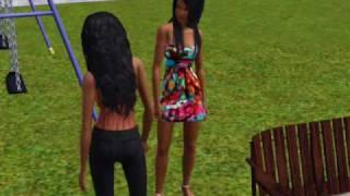 Monica-Sideline Hoe(Sims 3)