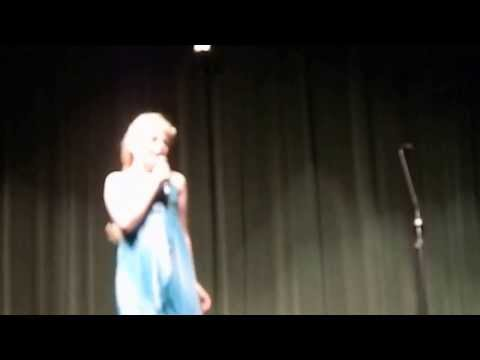 Holly - Let It Go - Geist Elementary School Talent Show 2014