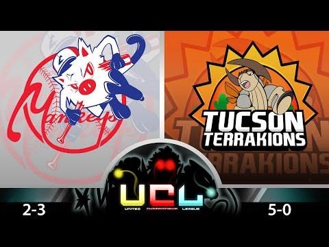 Pokemon Wifi Battle UCL - ShadyPenguinn's New York Mankeys Vs Tuscon Terrakions