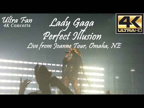 Lady Gaga - Perfect Illusion Live from Joanne Tour Omaha, NE