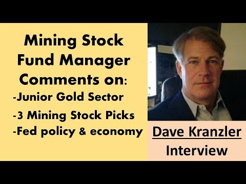 Dave Kranzler | Junior Mining Stocks Will Have Their Day in the Sun