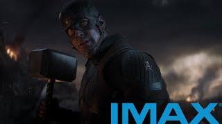 /IMAX\Капитан Америка поднимает Молот Тора | Мстители:Финал (2019)