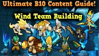 F2PG Summoners War - Ultimate Giants B10 Guide Building a Wind Team Tutorial Tips and Tricks