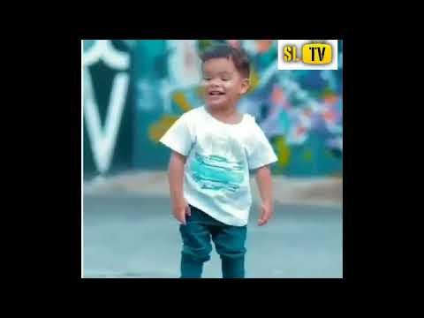 Cool boy dancing