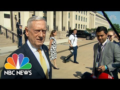 Secretary Of Defense James Mattis Offers 'Good News' On North Korea Summit | NBC News
