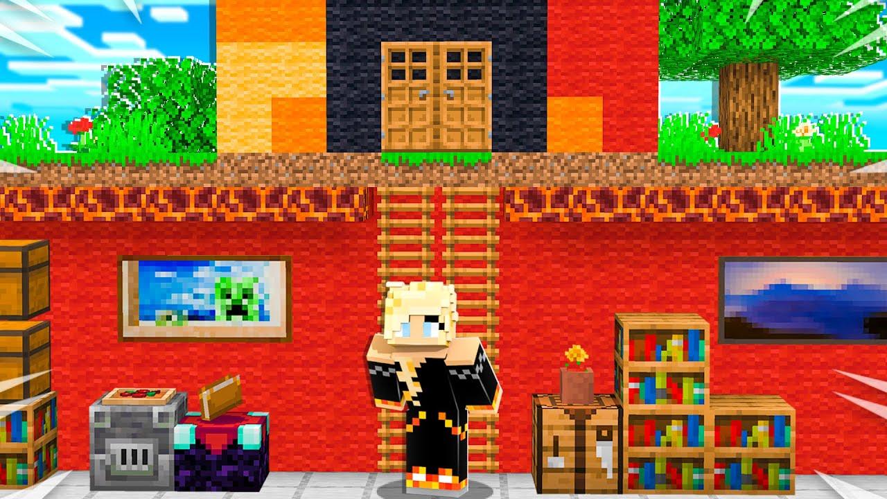I Found PrestonPlayz SECRET Underground Bunker! - Minecraft