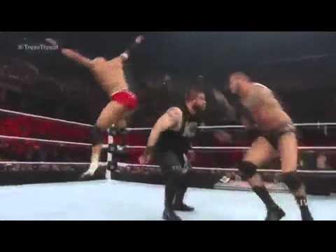 WWE Pop Up Powerbomb Into RKO