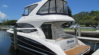 2012 Meridian 441 Sedan Bridge Walkthrough For Sale at MarineMax Sarasota