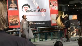 Mia Ismi feat Djitron Pah - Sio Mama ( Festival Asia UK, May 2015 )