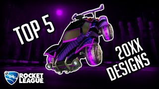 TOP 5 20XX DESIGNS OF ALL TIME! (+Giveaway Winners) | Rocket League Designs