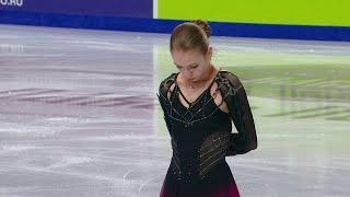 Александра Трусова Произвольная программа Чемпионат России по фигурному катанию 2021 Третье место