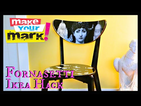 How to: Fornasetti Ikea Hack