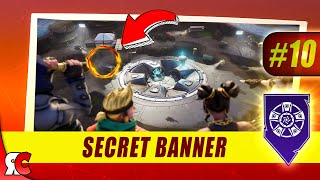Fortnite | WEEK 10 Secret Banner Location (Season 8 Battlestar/Banner Locations Discovery)