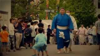 2014年9月、秋場所 新入幕力士「逸ノ城」のダイジェスト動画です。
