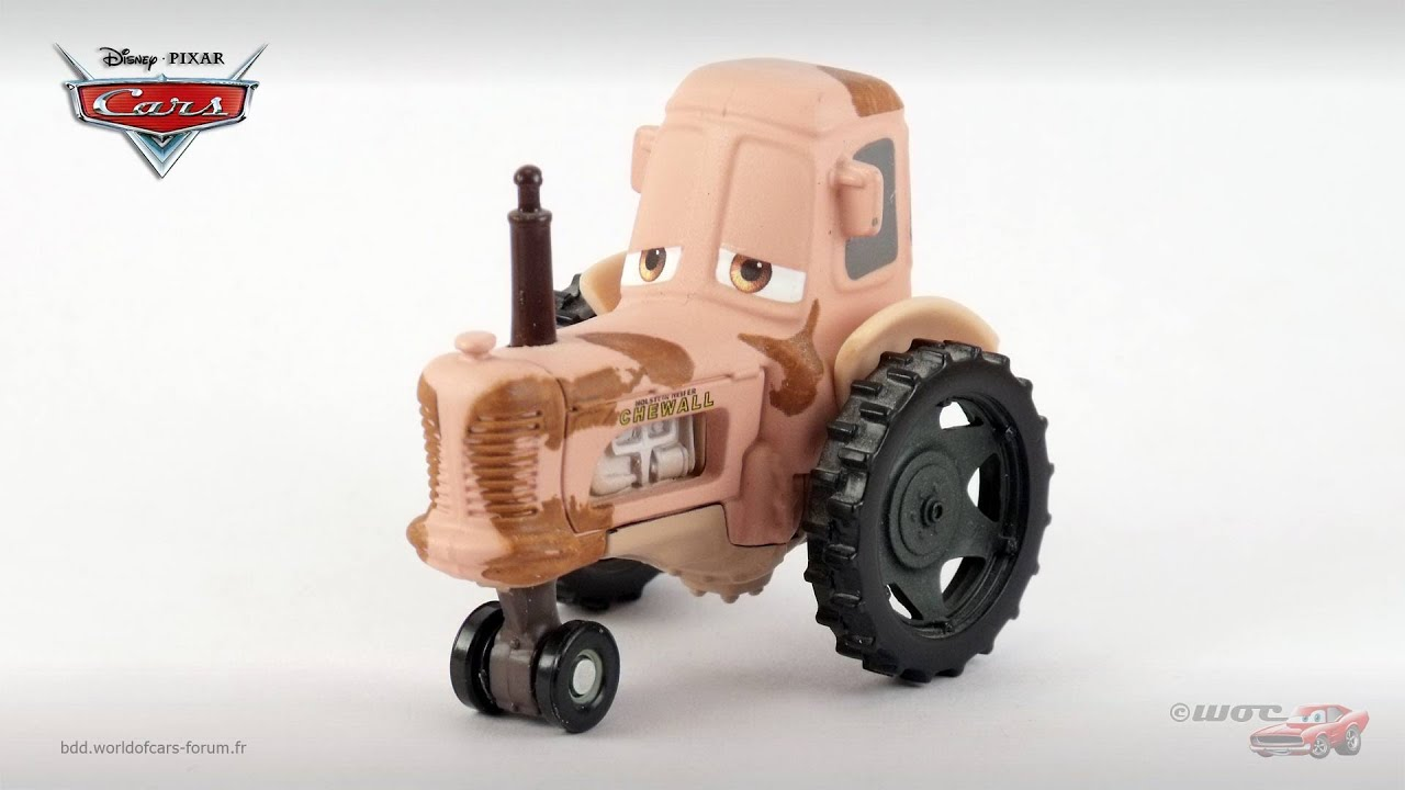 Tractor From Cars : Bdd world of cars tractor youtube