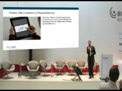 Tablets und Apps: Managing Trust mit elektronischen Signaturen