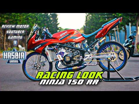 NINJA 150 RR RACING LOOK || REVIEW KAWASAKI NINJA RR || NINJA RR RACING STYLE