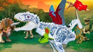 LEGO DINOSAURS - СБОРНИК Самых Лучших Самых Веселых Серий! Мутанты, Гибриды и Дино. Выбирай Приз!