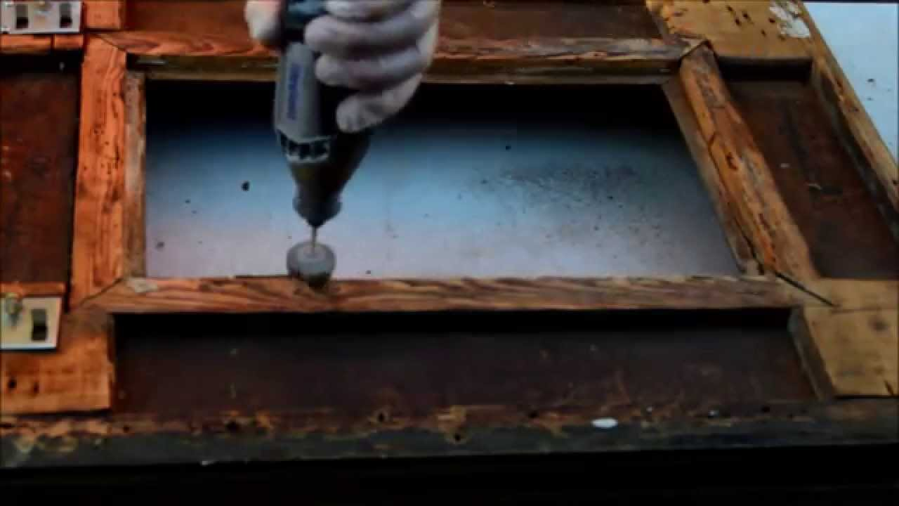 How to Clean Antique Frames - How To Clean Antique Frames - YouTube